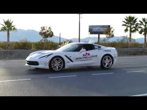 C7 Corvette Manual Transmission Launch Control Demonstration