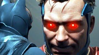 Injustice 2 - Final Boss Batman Vs. Superman Vs. Justice League & Ending + Alternate End Walkthrough