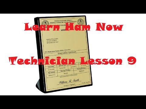 Amateur Radio HAM Technician Lesson 9 Questions T1C06 - T1C10 -Learn Ham Now!