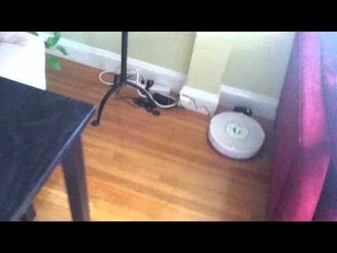 Roomba: Preparing a room for cleaning