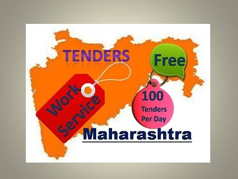 Maharashtra Tenders || Work Contract || 100 Tenders Per Day ||