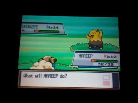 Pokemon soul silver I caught Abra
