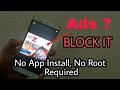 How to block Ad's On Android Without Installing Any Apps or Rooting Malayalam
