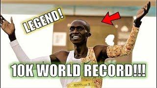 10K WORLD RECORD SMASHED!! || JOSHUA CHEPTEGEI RUNS 26:38!!!