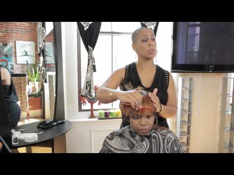 How to Do Short Cut Styles for Black Girls : Hair Care & Styling Tips