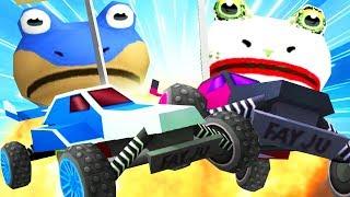 BAT FROG vs JOKE FROG RC CAR RACE - Amazing Frog - Part 124 | Pungence