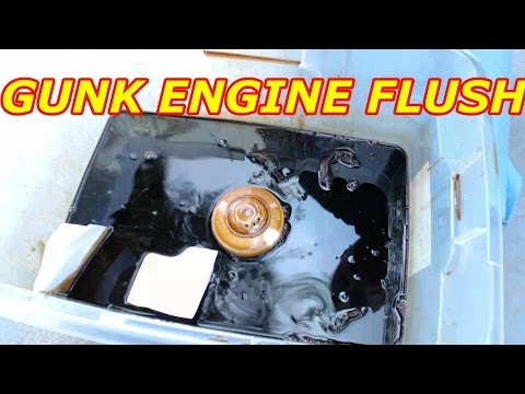GUNK ENGINE FLUSH