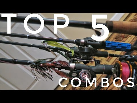 MUST HAVE Fishing Rod Combos