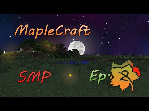 Finding Lost Treasure | MapleCraft SMP | Episode 2
