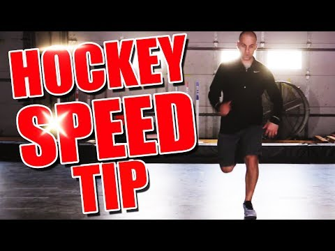 3 AWESOME Hockey Speed Drills (Training Off-Ice + Tips)