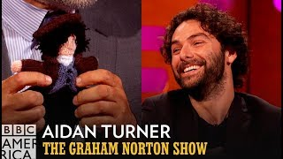 Aidan Turner Receives A Knitted Version Of Himself - The Graham Norton Show