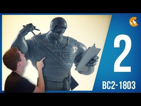 Sculpting Character Development - BC2-1803 - Week 2