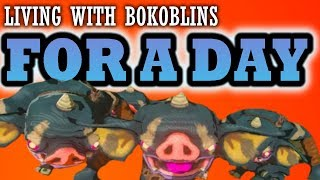 Download Zelda Breath of the Wild: Living with bokoblins for a day! Video