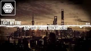Horizontal Audio Spectrum Music Visualiz 3 Years Ago