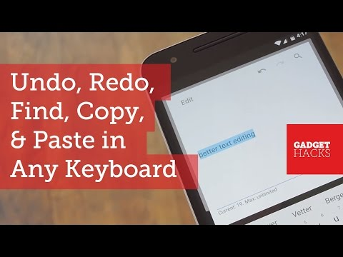 Add Undo & Redo Shortcuts to Any Android Keyboard [How-To]