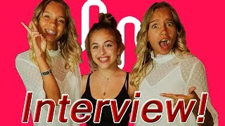 NEW LISA AND LENA INTERVIEW WITH BABY ARIEL! Vidcon 2017