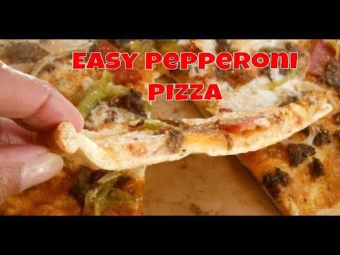 Easy Pepperoni Pizza