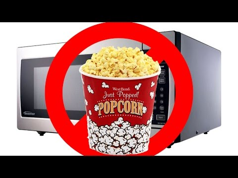 How To Deal with a microwave that burns popcorn