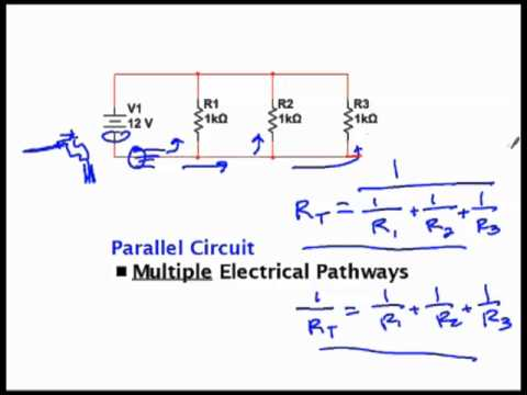 Calculating Total Resistance in Series and Parallel Circuits