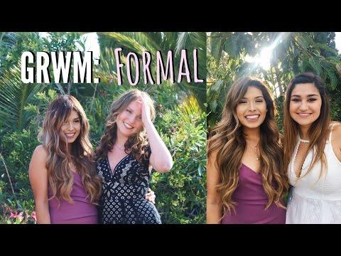 GRWM: Sorority Formal 2017 | ItsMandarin