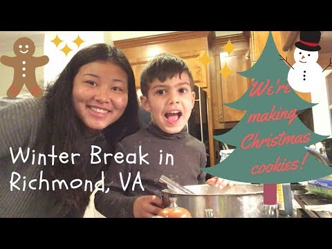 Spending Time With Family in Richmond, Virginia: Winter Break 2017 Video