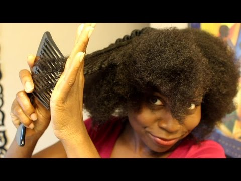 How to Comb Natural Hair Without Breakage