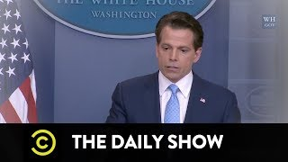 Goodbye, Anthony Scaramucci: The Daily Show