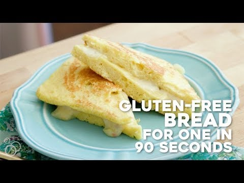 Gluten-Free Bread for One in 90 Seconds!