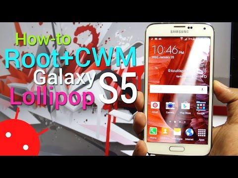 Root + CWM para Galaxy S5 en Lollipop: Paso a paso