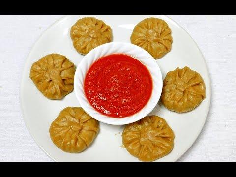 Veg momos recipe   Vegetarian Dim Sum Recipe   Momo Sauce Recipe