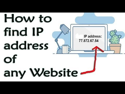 how to find IP address of any Website | ping command | Facebook IP address
