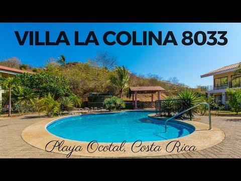 *** FOR SALE *** Villa la Colina 8033 – Playa Ocotal, Guanacaste, Costa Rica