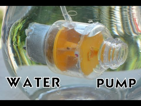 How to Make  Submersible Water Pump at Home - Simple Way