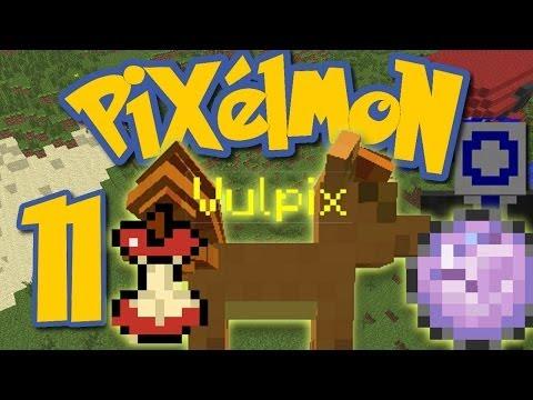 Pixelmon Ep. 11 - YELLOW BOSS VULPIX AND HELD ITEMS! (Minecraft Pokemon Mod)