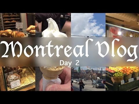 Travel Vlog: Montreal Pt2: Eaton Centre, souvenir shopping, Atwater Market