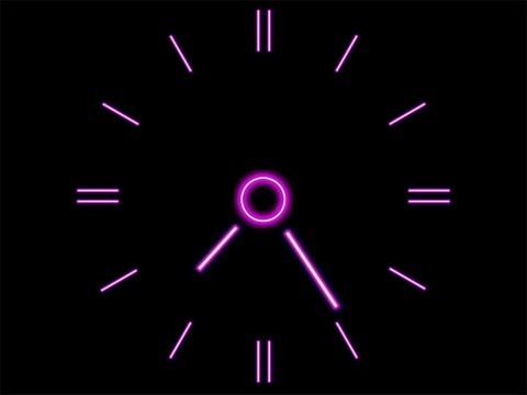 How To Make A Clock Using Notepad[HD]