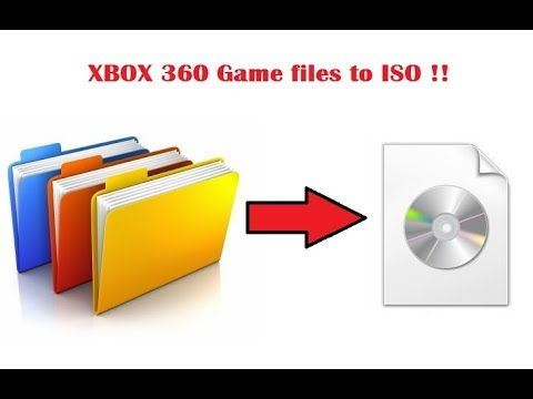 How to Convert Xbox 360 XEX Game files to ISO-