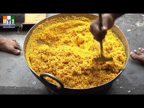 Motichur Laddu - FAMOUS INDIAN SWEET - ANDHRA STREET FOODS street food