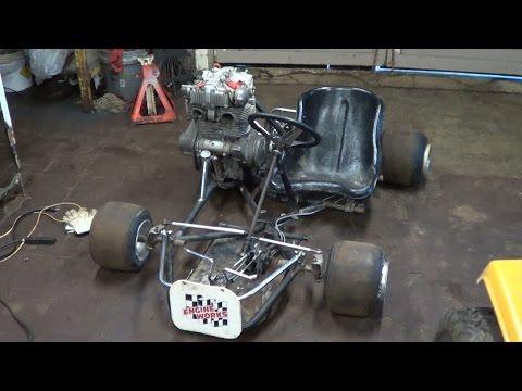 Home Made 500cc Shifter Kart Build Part 2