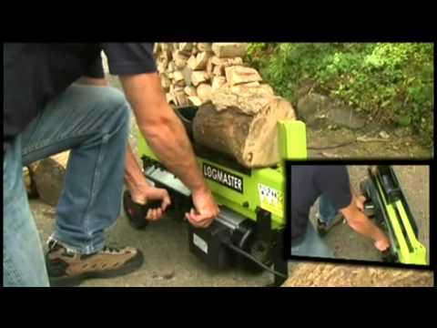 Dual Logmaster Log Splitter
