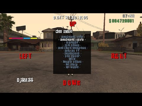 How to instal cheat and codes for GTA sa android without  root