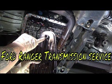 2009 Ford Ranger, Transmission Fluid and Filter Change