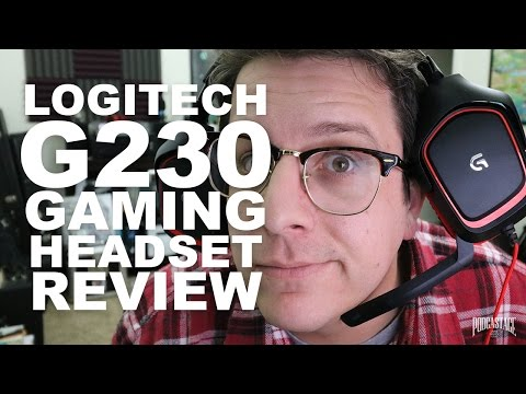 Logitech G230 Gaming Headset Review / Test