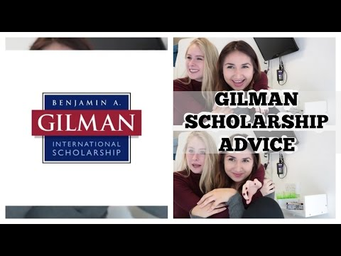 Things to know about the Gilman Scholarship!! Advice + Tips!