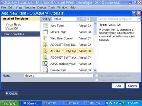 ASP.NET: How to Use JQuery in ASP.NET - Tutorial 6