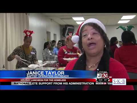 Baptist Memorial Health Care Gives Back to the Local Homeless Community
