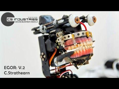 Egor V.2, Robo Animatronic: UoH (ADA) Carl Strathearn B.A Multimedia Design 2014