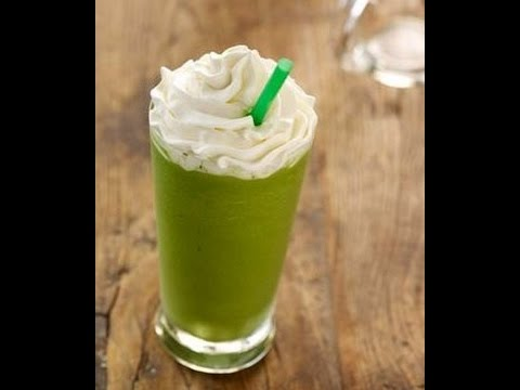 How to Make a Starbucks Green Tea Frappuccino?