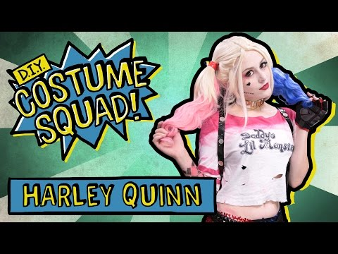 Make Your Own Harley Quinn Costume - DIY Costume Squad