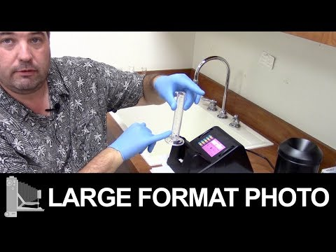 How To Develop Large Format Film